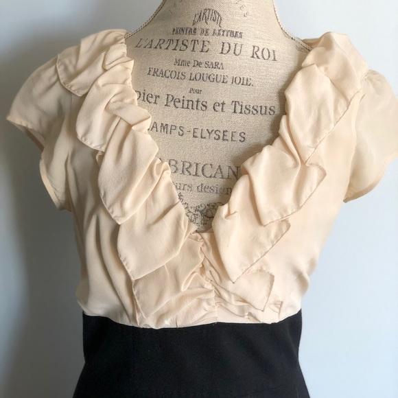 Rebecca Taylor Dresses & Skirts - Rebecca Taylor dress. Black/cream size 10 ( 8-10)
